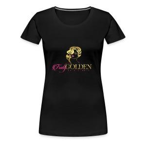 TrulyGolden Hair Studio - Women's Premium T-Shirt