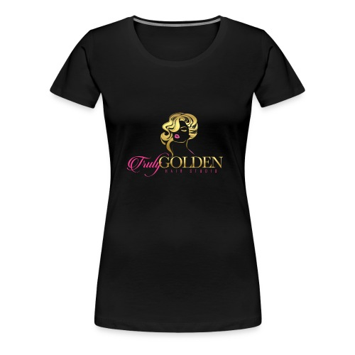 TrulyGolden Hair Studio - Women's Premium T-Shirt