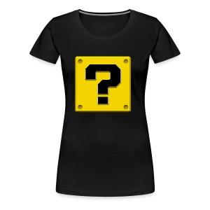 The What - Women's Premium T-Shirt
