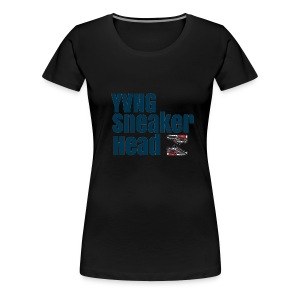 OG YvngSneakerHead brand - Women's Premium T-Shirt