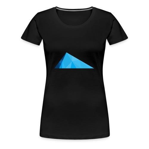 Glacier Ice logo - Women's Premium T-Shirt