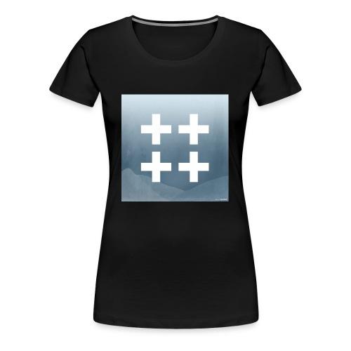 Plus plus plus plus - Women's Premium T-Shirt