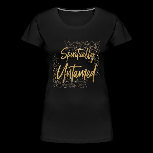 Spiritually Untamed Gold 1 - Women's Premium T-Shirt