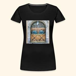 Shut the Front Door Let's Pray ! - Women's Premium T-Shirt
