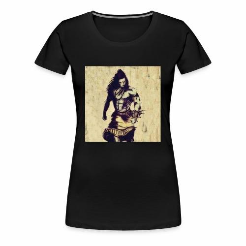 Lord_Shiva_Walk - Women's Premium T-Shirt