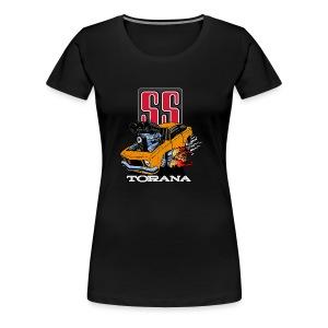Holden T Shirt Torana LX SS Hatch Colour - Women's Premium T-Shirt