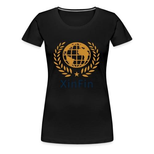xinfin - Women's Premium T-Shirt