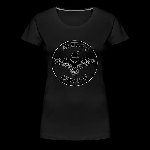 ARC CROW Logo in a circle - Women's Premium T-Shirt