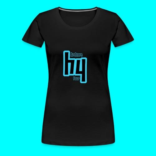 Original Hardcore 4 Design - Women's Premium T-Shirt
