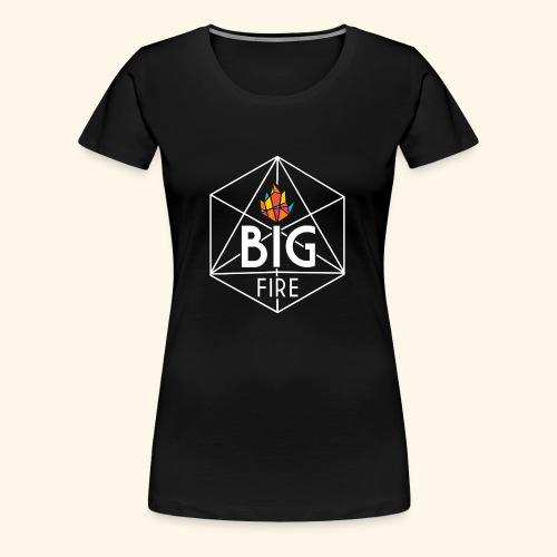 BiG Fire 2018 White - Women's Premium T-Shirt