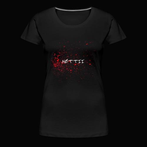 NØTTII - Women's Premium T-Shirt