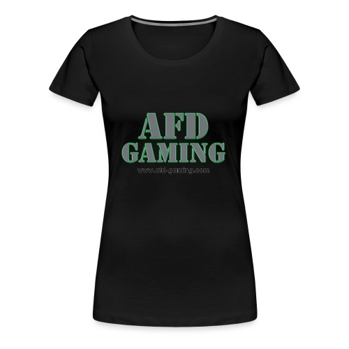 AFD Gaming Stencil - Women's Premium T-Shirt