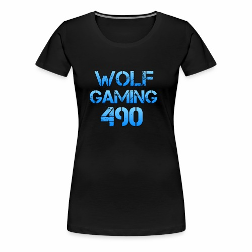 Wolfgaming490 Logo - Women's Premium T-Shirt