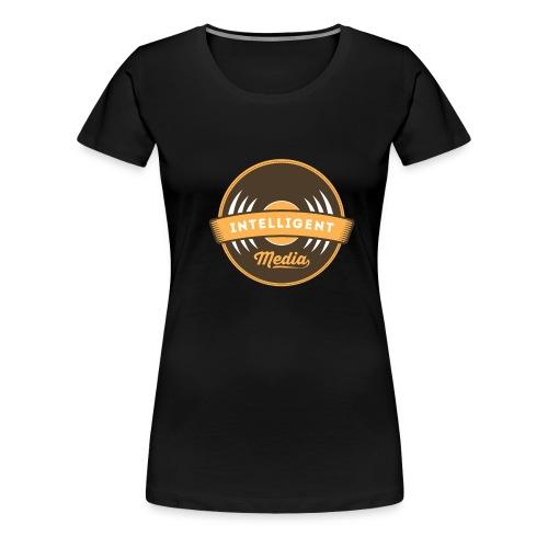 IntelligentMedia - Women's Premium T-Shirt