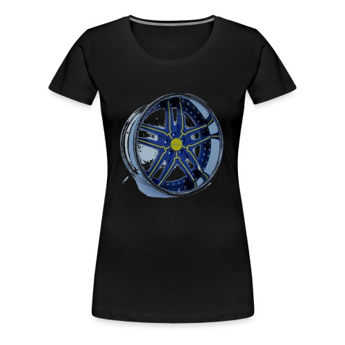 HotWheels Rim Shirt - Women's Premium T-Shirt
