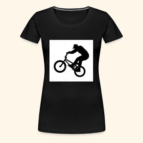 Rider silhouette - Women's Premium T-Shirt