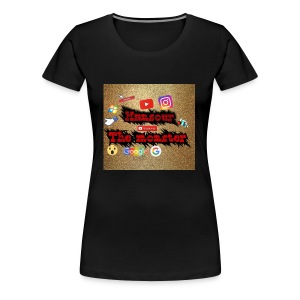 Mansour the monster - Women's Premium T-Shirt