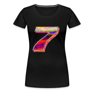 Deep Fried 7 (Meme) - Women's Premium T-Shirt