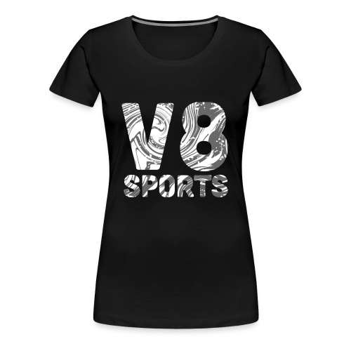 v8Sports Confusion Print - Women's Premium T-Shirt