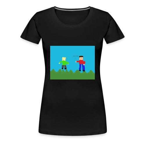 Cheesy Cheese - Women's Premium T-Shirt