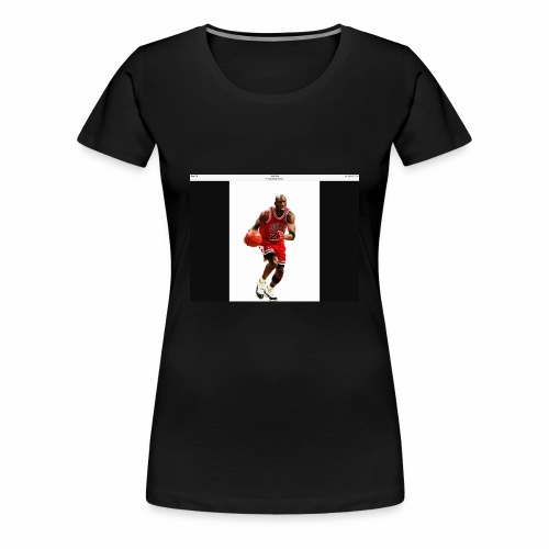 Micheal Jordan - Women's Premium T-Shirt