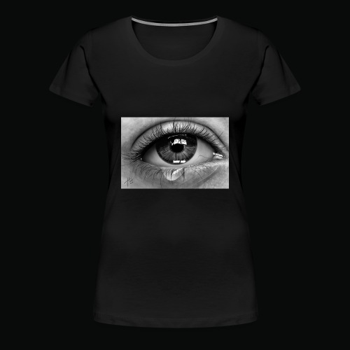 Emotional eye - Women's Premium T-Shirt