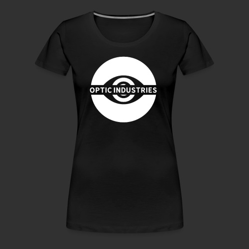 OPTIC Industries logo (White) - Women's Premium T-Shirt
