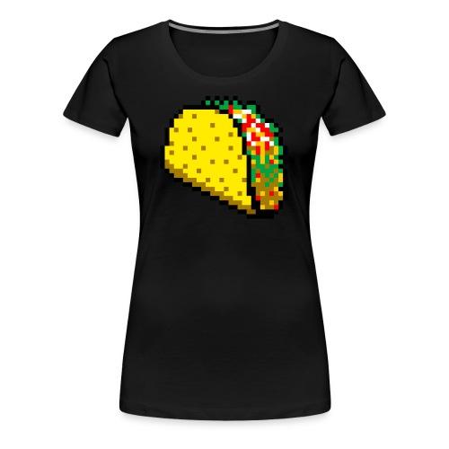 8bit Taco - Women's Premium T-Shirt