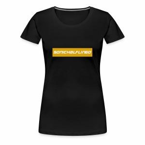 SonicHalfling0 Gold Supreme Style - Women's Premium T-Shirt