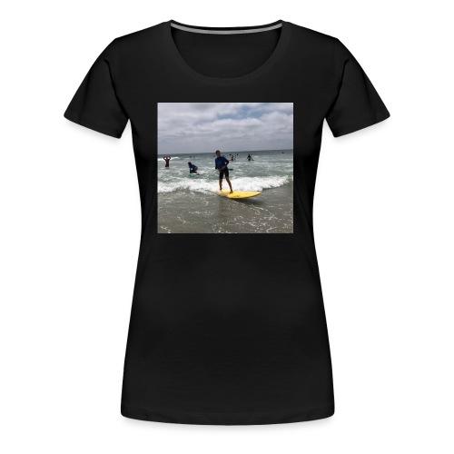 Surfer Girl - Women's Premium T-Shirt