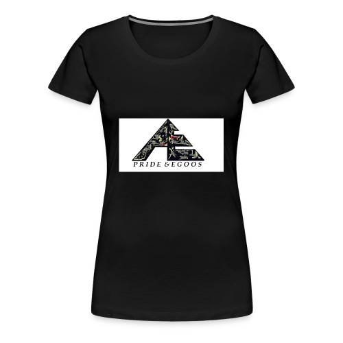 Abstract art hat logo - Women's Premium T-Shirt