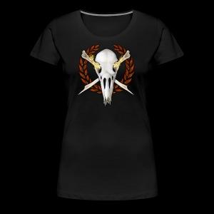 TSL flames2 1404022307 - Women's Premium T-Shirt
