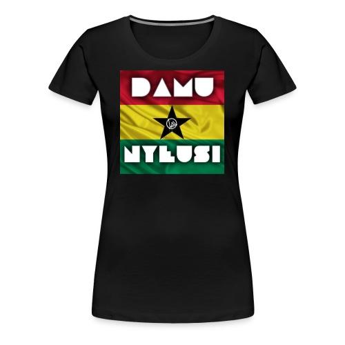 Ghana DAMU NYEUSI - Women's Premium T-Shirt