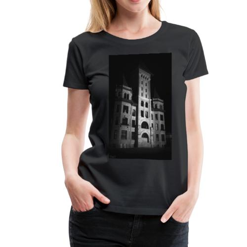 Castle in Town - Women's Premium T-Shirt