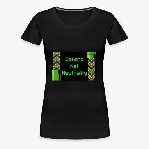 Defend Net Neutrality - Women's Premium T-Shirt