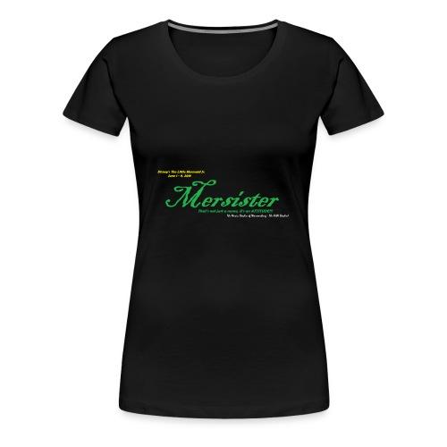 Mersister Attitude - Women's Premium T-Shirt