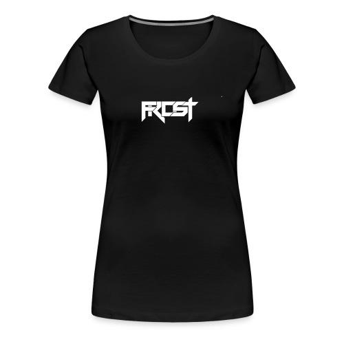 FROST TEXT LOGO - Women's Premium T-Shirt