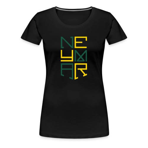 Neymar T Shirt Design - Women's Premium T-Shirt