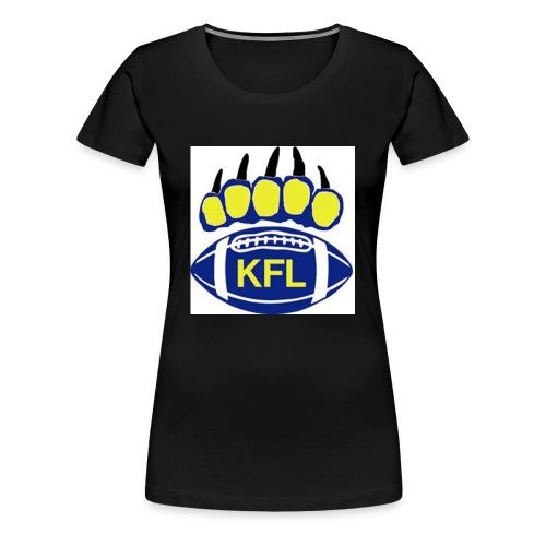 KFL Football - Women's Premium T-Shirt