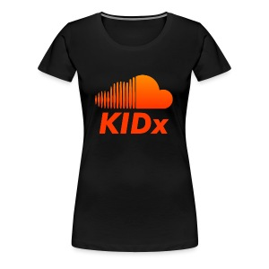 SOUNDCLOUD RAPPER KIDx - Women's Premium T-Shirt