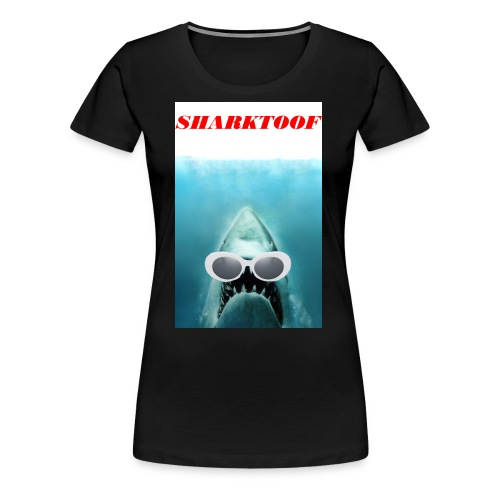 SHARKTOOF SHARK WITH CLOUT - Women's Premium T-Shirt