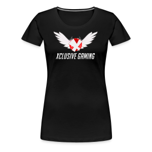 Xclusive gaming oversized logo - Women's Premium T-Shirt