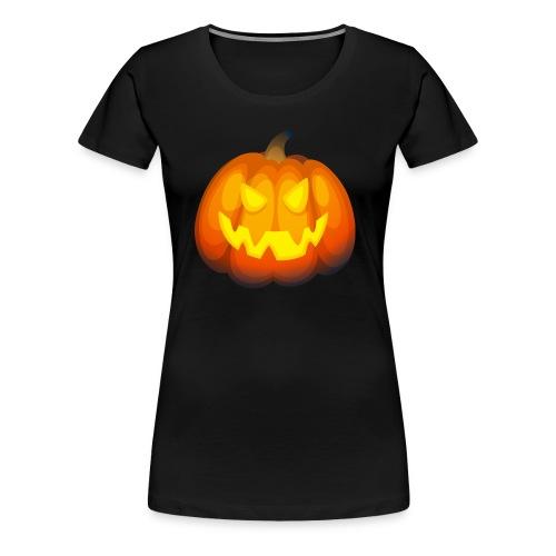 Pumpkin Halloween party T-shirt - Women's Premium T-Shirt