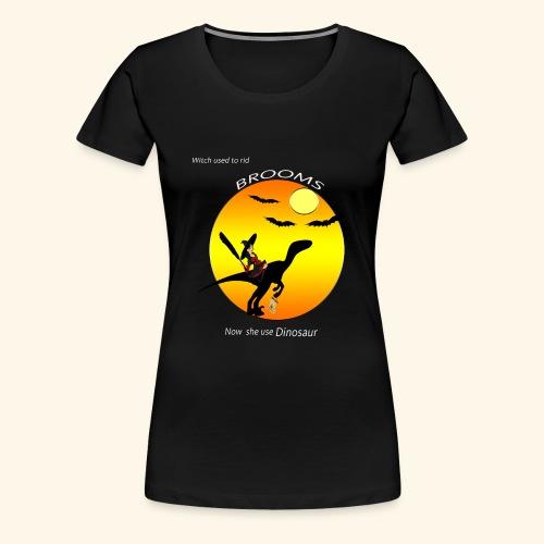 halloween dinosaur t-shirt - Women's Premium T-Shirt