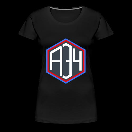 Adrian 34 LOGO - Women's Premium T-Shirt