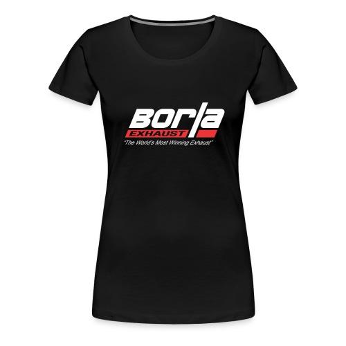 Borla Exhaust - Women's Premium T-Shirt