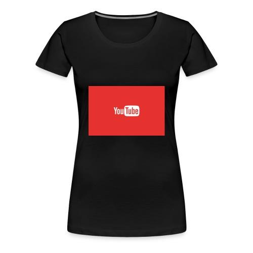 YouTube Shirts - Women's Premium T-Shirt