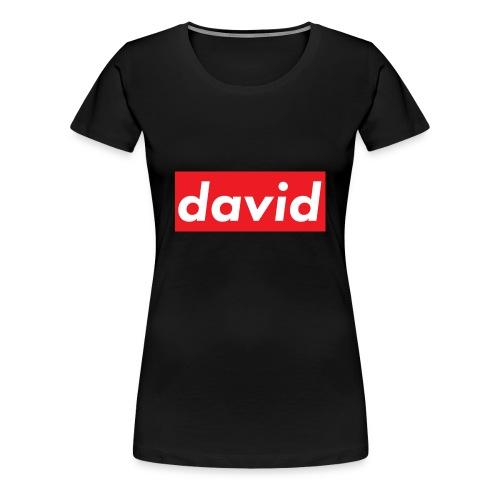 davidsupreme - Women's Premium T-Shirt