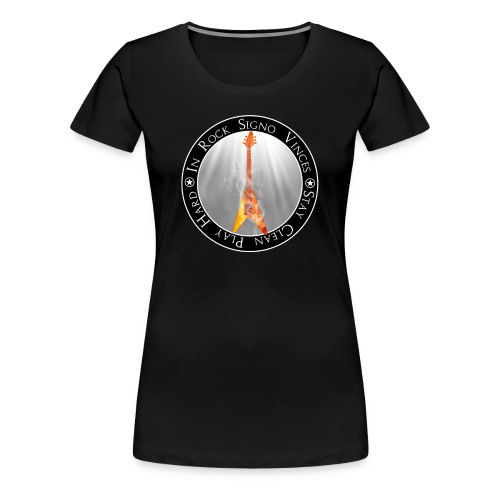 In Rock Signo Vinces - Women's Premium T-Shirt