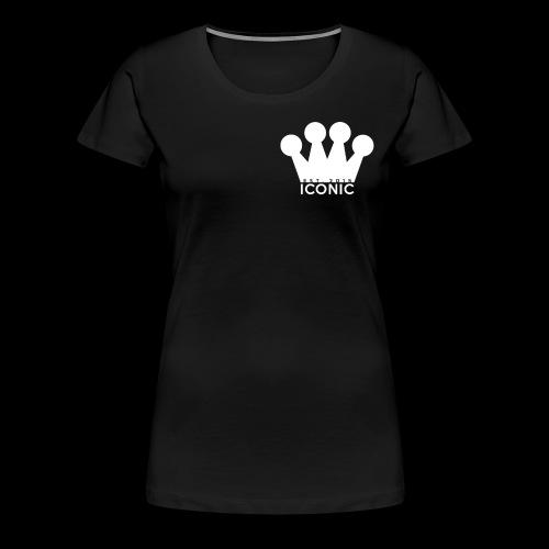 Iconic (Crown/Logo) - Women's Premium T-Shirt
